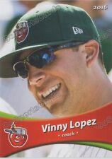 2016 Fort Wayne Tin Caps Vinny Lopez Padres CO