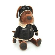 Plush Soft toy the dog Cookie  Aviator 16'' in crafts box