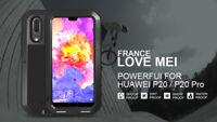 Coque antichoc et etanche HUAWEI P20 - LOVE MEI FRANCE - Noir