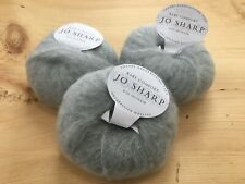 Jo Sharp Rare Comfort mohair yarn #609 Tranquil 3 skeins New