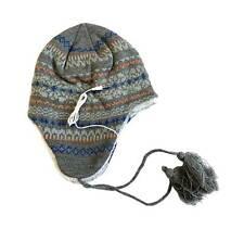 Urban Pipeline Peruvian Winter Knit Beanie Hat with Detachable 3.5mm Headphones