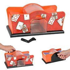 Kartenmischmaschine Kartenmischer Mechanisch Karten für Poker Romme Uno Spiele