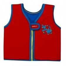 SPEEDO Swimming Life Vest Sea Squad Jacket Red Blue Ages 2/4 or 4/6 Years.