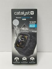 Catalyst -Protective Waterproof Case for Apple Watch 44mm - Stealth Black GV1128