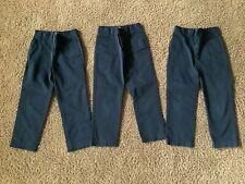 Lands End Boys Unifo 00006000 rm Pants Size 8 Lot Of 3 Euc Pull On