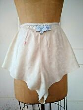 VINTAGE 'SHADES of SILK'  IVORY PANTIES size L NEW