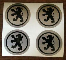 4x 50 mm fits peugeot wheel STICKERS center badge centre trim cap hub alloy t