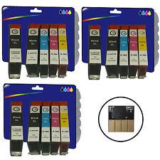 3 Sets + 3 Black non-OEM 364x4 Ink for HP 5520 5524 6510 6520 B109a B109c B109d