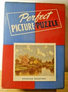 1940-50 PERFECT PICTURE 275+ Puzzle SUMMERTIME REFLECTIONS English Countryside