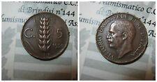 Vittorio Emanuele III 5 Centesimi Spiga 1928