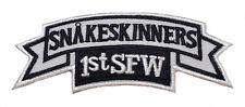 Stargate SG-1 Snakeskinners 1st SFW Logo Patch