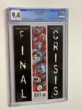Final crisis 7 cgc 9.4 dc comics 2009