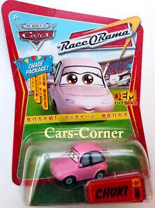 "Disney Pixar Cars 1 Chuki # 90 Reporterin & Sängerin von ""Grid Girl"" NEU & OVP"