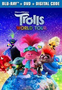 Trolls World Tour [Blu-ray], Good DVD, Jamie Dornan,Ester Dean,James Corden,Kell