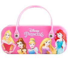 Children's Hard Glasses Sunglasses Case With Handle Snap Lock - Disney Princess