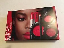 MAC Look in a Box Red Rocker - Limited Edition 7 Piece FULL SIZE, NEW
