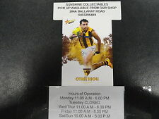 2017 AFL FOOTY STARS BASE CARD NO.123 CYRIL RIOLI HAWTHORN