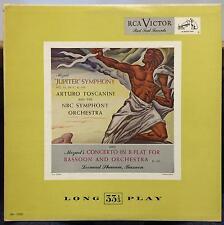 ARTURO TOSCANINI mozart symphony no 41 jupiter LP VG LM-1030 RCA Mono USA