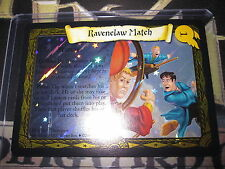 HARRY POTTER TCG CARDS QUIDDITCH CUP RAVENELAW MATCH 23/80 RARE FOIL EN MINT