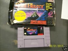 SOUL BLAZER SNES (Super Nintendo) Rare Game Cartridge & Box Only! No Booklet!