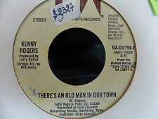 KENNY ROGERS There's an old man in our town / home made love UA XW798 Y