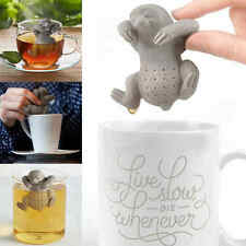 Cool Sloth Tea Infuser - Mr Silicone Loose Leaf Strainer Herbal Spice Filter