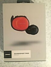 Bose SoundSport Free Rechargeable Sweat Resistant Wireless Bluetooth Headphone