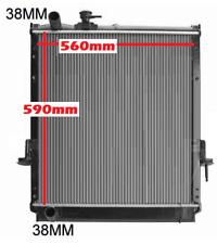 Radiator Isuzu NPR400 NPR300 NQR300 2004-2007 4HK1 Core Height 590mm Manual New