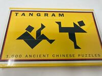 TANGRAM: 1,600 Ancient Chinese Puzzles Barnes & Noble Books NEW
