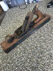 ~ Vintage No 27 Wood Plane Tool Stanley Rule & Level Co ~
