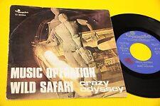 "MUSIC OPERATION 7"" CRAZY ODYSSEY ORIG ITALY PROG 1972"