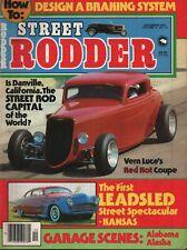 Street Rodder Magazine - December 1981 - Vern Luce's Red Hot Coupe