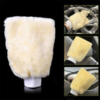 Microfiber Plush Mitt Car Wash Mitten Washing Glove Cleaning Brush Tools Pop. UI