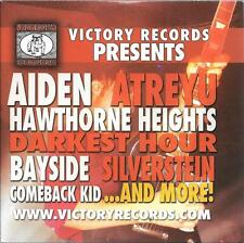 1  promo cd VICTORY RECORDS PRESENTS aiden bayside heavy metal atreyu audition