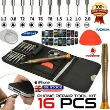 Mobile Phone 16Pcs in 1 Repair Tool Kit Screwdriver Set Samsung iPhone iPod iPad