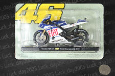 Yamaha YZR-M1 #46 Rossi World Championship 2010 Motorcycle Racing Model 1/18