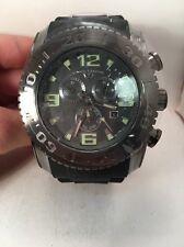 swiss legend sl -10067-Men's Commander BLACK Chronograph Luminous Watch-HO