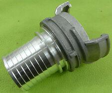 Raccord symétrique aluminium  pompier à douille annelée pour tuyau 75 mm
