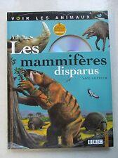 Les mammifères disparus DVD inclus 9 ans et + /V11