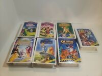 McDonalds Walt Disney Masterpiece Collection Happy Meal VHS Toy Lot of 7 1995