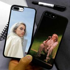 Billie Eilish Aesthetic Singer Silicone Case Cover For iPhone Samsung Galaxy