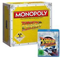 Monopoly Regreso en la Futuro Coleccionista Edición Juego con Blu Ray Trilogía