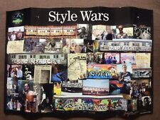 Style Wars 30th Anniversary Poster Signed By Henry Chalfant