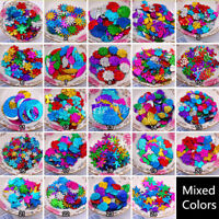 Shiny Loose Sequins Paillettes Sewing DIY Craft for Clothes Wedding Mixed Colors