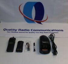 Motorola Xts1500 380 470 Mhz Uhf P25 9600kb Two Way Radio H66qdd9pw5bn