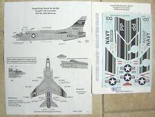 "F-8J Crusader ""Usn/Vp-63 Nas Miramar"" Microscale Decals 1/48"