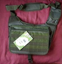 Olive Green MOLLE Shoulder PACK Military Army Tactical Sling Messenger BAG