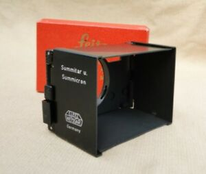 vintage Leitz SOOFM lens shade in original box - Leica Summicron, Summitar lens
