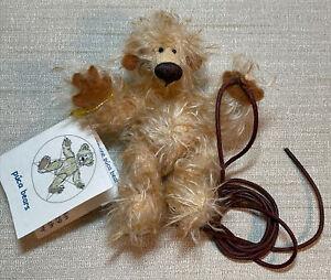 "Small OOAK Puca Bears Mohair Artist Maria Collin Teddy Bear - Germany Unusual 4"""