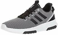 Mens Adidas Cloudfoam Racer TR Black White Sneaker Athletic Shoe DA9305